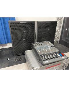 USATO DIFFUSORI  PROEL EX12P + MIXER PROEL M500 + 2 STATIVI
