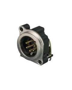 xlr-da-circuito-stampato-serie-b-nc5mbh-neutrik